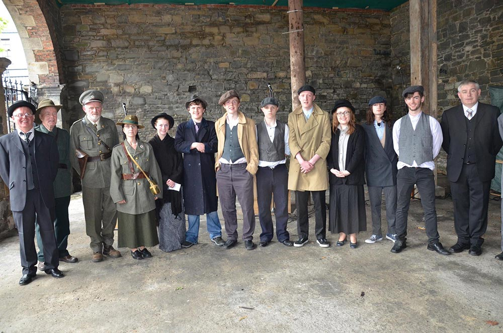 Ballybay Town paid tribute to the memories of 1916