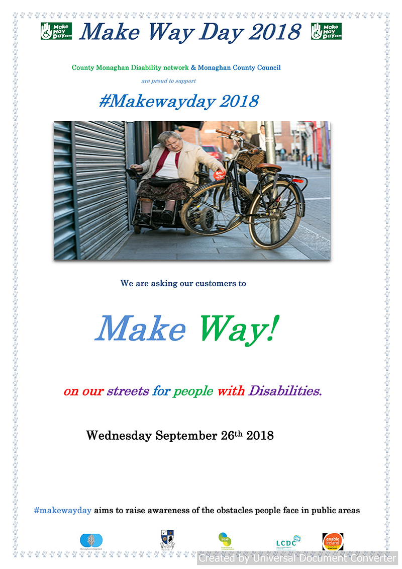 Make way Day poster 1