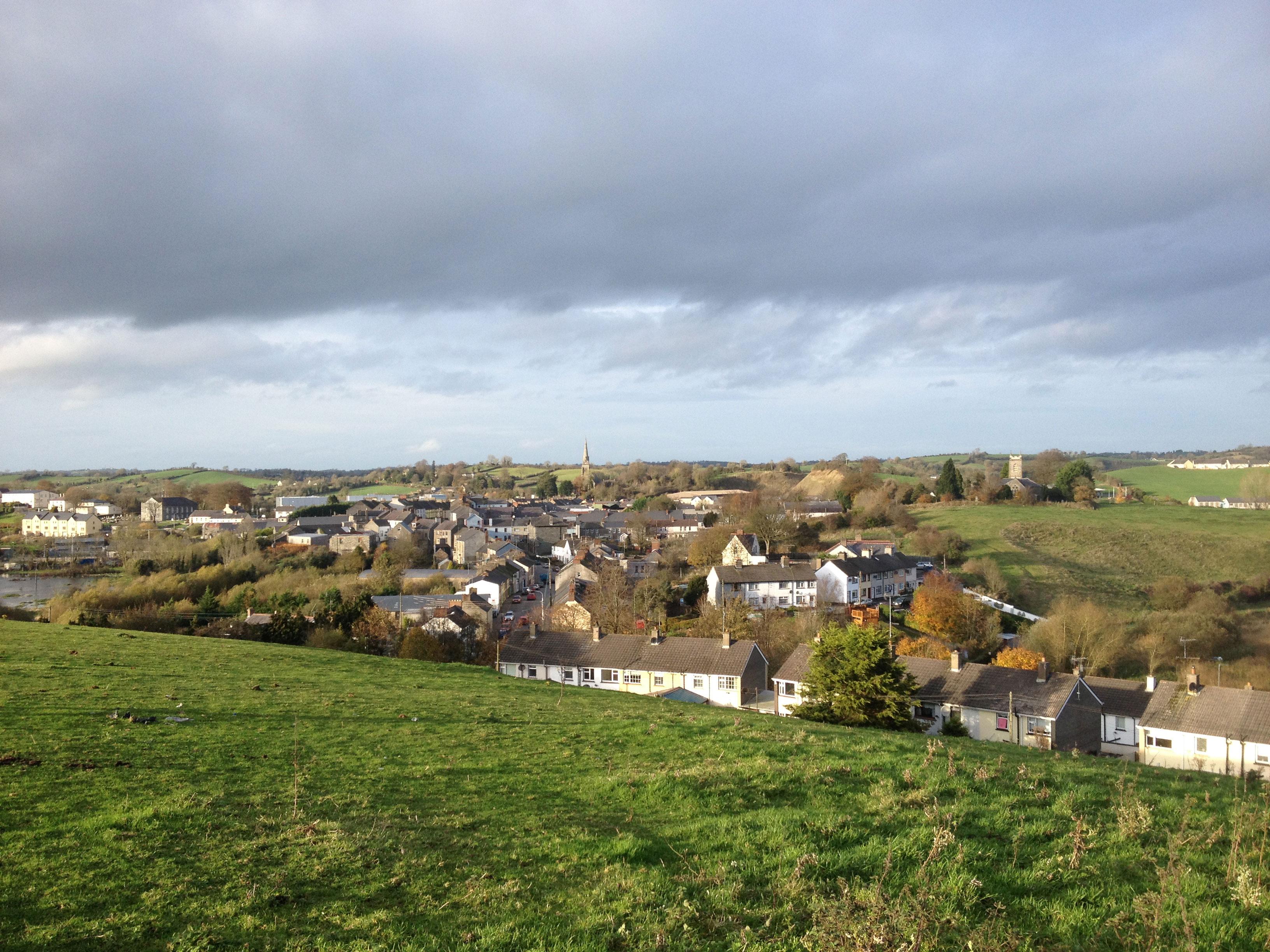Overlooking Ballybay Town