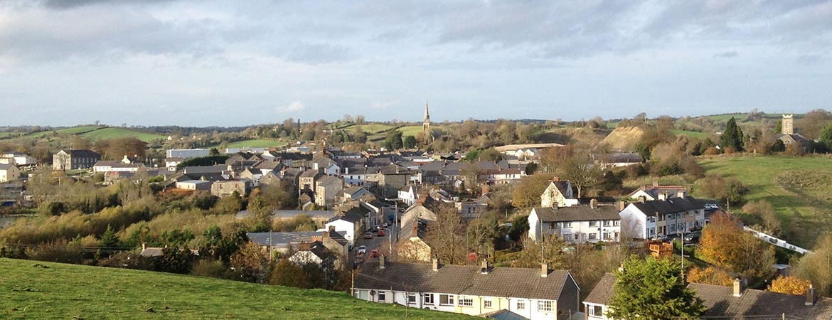 View of Ballybay Town
